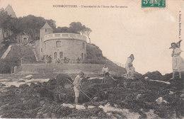 CPA NOIRMOUTIERS (85) L' EXTREMITE DE L' ANSE DES SOUZEAUX - ANIMEE - Ile De Noirmoutier