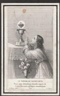 Christina-1834-nathalia 1833 Flameigh-beerst 1892 -10 Minuten Na Elkaar - Devotieprenten