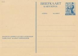 Nederlands Indië - 1948 - 5 Cent Danseres, Briefkaart G78b - Ongebruikt - Nederlands-Indië