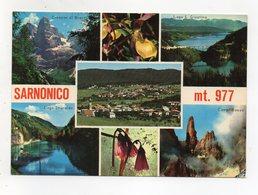 Sarnonico (Trento) - Cartolina Multipanoramica - Viaggiata Nel 1985 - (FDC16465) - Trento