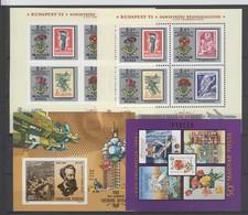 Ungarn . 4 Bloecke Postfrisch , Katalogwert 64 Euro - Unused Stamps