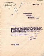 Factures . Mareuil Sur Ay .  Grands Vins De Champagne  Schlumpf 1933  (Bon Etat) - Alimentaire
