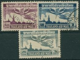 Thailand 1952 Flugpostmarken Garuda über Bangkok 299/01 Gestempelt - Thailand