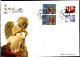 2013 Christmas - Joint Issue Of Macau And Greenland - Mixed FDC Rare - Gemeinschaftsausgaben