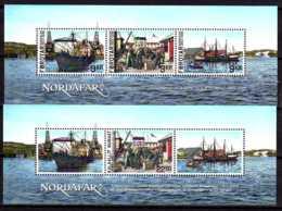 2013 Nordafar - Joint Issue Of Faroyar And Greenland -both Countries MS - Paper - MNH** - Gemeinschaftsausgaben