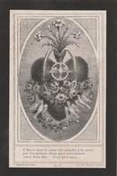 Marie Isabelle  Fontaine-augustinesse Mons 1881 - Devotieprenten