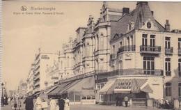CPA Blankenberghe - Digue Et Grand Hôtel Pauwels-D'Hondt  (42874) - Blankenberge