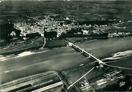 MEUNG-SUR-LOIRE Vue Générale Photo Aérienne Ed CAP (4 Points De Colle Au Verso) - Other Municipalities