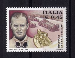 Italy, 2004- Centenario Nascita Achille Varzi. MintNH - 6. 1946-.. Republic