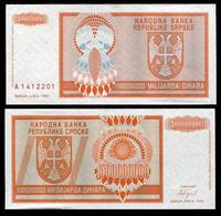 BOSNIA Rep Srpska Banja Luka 1 BILLION DINARA 1993  UNC - Joegoslavië