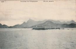 *** Bresil  ***  RIO DE JANEIRO  Fortaleza De Villegaignon   Stmped TTB - Rio De Janeiro