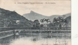 *** Bresil  ***   RIO DE JANEIRO  Caixa D'agua Do Francça Corcovado  Written TTB - Rio De Janeiro