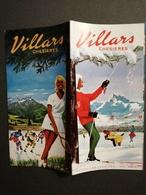 SUISSE / SWITZERLAND VILLARS CHESIERES BEAU DÉPLIANT TOURISTIQUE ANCIEN - Dépliants Touristiques