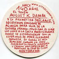 Lote Es3, España, Posavaso, Coaster, Estrella Damm, Malta Y Arroz - Portavasos