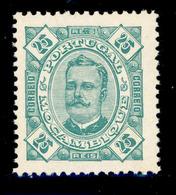 ! ! Mozambique - 1893 King Carlos 25 R - Af. 33 - MNH - Mozambique