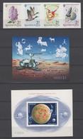 Ungarn Und Romania  , 3 Geschnittene Ausgaben Postfrisch  , Katalogwert 150 Euro - Unused Stamps