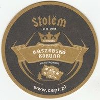 UNUSED BEERMAT - BROWAR SZYMBARK (SZYMBARK, POLAND) - KASZEBSKO KORUNA - Beer Mats