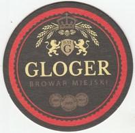 UNUSED BEERMAT - BROWAR MIEJSKI (BIELSKO-BIALA, POLAND) - GLOGER - Beer Mats