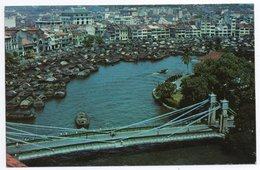 SINGAPORE - THE SINGAPORE RIVER / CIRCULATED FROM INDIA-1961 - Singapore