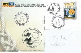 13053  PAP TRANSIT De VÉNUS - MAHINA - TAHITI - POLYNÉSIE FRANÇAISE - Lettres & Documents