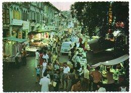 SINGAPORE - A BUSY CHINATOWN NIGHT MARKET - Singapore