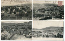 LOT 6 CP * GERARDMER Les XETTES Coteau Vue Villa Jeanne Vue Sur Le Coteau - Gerardmer