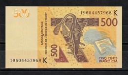 Senegal, 2012- Banque Centrale Des ètats De L'Afrique De L'ouest. 500 Francs, AU SPL. - Sénégal