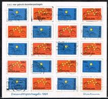 PAYS-BAS - Oblitérés/Used/ 1995 - Timbres Pour L'Affranchissement De Noêl Et Jour De L'An - 1980-... (Beatrix)