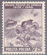 POLAND --GOV. IN EXILE       SCOTT NO. 3K11     MNH      YEAR  1943 - 1939-44: 2ème Guerre Mondiale