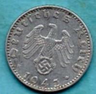 R13/   GERMANY  3° REICH   50  REICHS PFENNIG 1943 A - [ 4] 1933-1945 : Troisième Reich