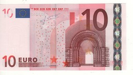 "10 EURO  ""Y"" Greece    Firma Trichet    N 021 F1  /  FDS - UNC - EURO"