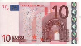 "10 EURO  ""Y"" Greece    Firma Trichet    N 022 F6  /  FDS - UNC - EURO"