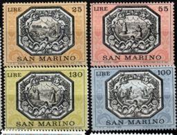 San Marino 1972 Legend Of St Marinus 4 Value MNH - Fiabe, Racconti Popolari & Leggende
