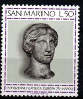 San Marino 1975 Marmor Head Aphrodite 1 Value MNH Stamp Exhibition Europa - Sculpture