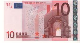 "10 EURO  ""Y"" Greece    Firma Trichet    N 023 A5  /  FDS - UNC - EURO"