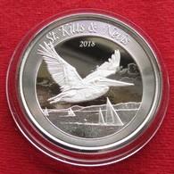 St. Kitts 2 $ 2018 Pelican East Caribbean - Unclassified