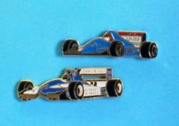 2 PIN'S //  ** DEUX F1 LIGIER RENAULT ** . (Winner) - Renault
