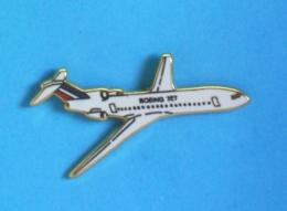 1 PIN'S //  ** LE BOEING 727 / AVION DE LIGNE TRIRÉACTEUR  À FUSELAGE ÉTROIT ** . (LOGO ALCARA) - Avions