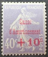 DF40266/493 - 1928 - CAISSE D'AMORTISSEMENT - TYPE SEMEUSE - N°249 NEUF** - Caisse D'Amortissement