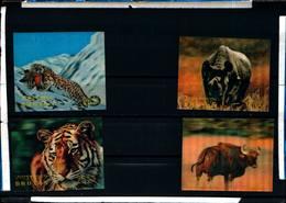 6466B) 1970 BHUTAN FAUNA ANIMALI SELVAGGI 3D -MNH** - Bhutan
