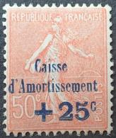 DF40266/498 - 1928 - CAISSE D'AMORTISSEMENT - TYPE SEMEUSE - N°250 NEUF** LUXE - Cote : 75,00 € - Caisse D'Amortissement