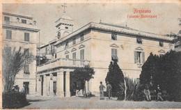 """08459 """"ARENZANO (GE) - PALAZZO MUNICPALE"""" ANIMATA - CARTOLINA ORIG. SPED. 1905 - Altre Città"""