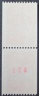 DF40266/526 - 1997 - TYPE MARIANNE DE LUQUET - PAIRE N°3084 + 3084a (N° ROUGE Au Verso) TIMBRES NEUFS** - France