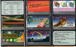 Macau - GPT, 1st Issued Complete Set Of 7 Macau Phonecards In Folder, 1MACA To F, 1990, Mint - Macau