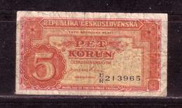 194g * TSCHECHOSLOWAKEI * 5 KRONEN **!! - Tschechoslowakei