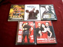 PROMO  DVD ° REF  60 16 3 ° LE LOT DE 5 DVD  POUR 20 EUROS °°° - DVD