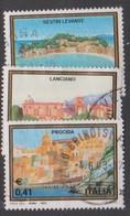 Italy Republic S 2681-2683 2003 Tourism Propaganda 30th Issue, Mint Never Hinged - 6. 1946-.. Republic
