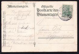Germania 5 Pfg. Auf Sonderpostkarte (Silberhochzeit Des Württembergischen - Germany