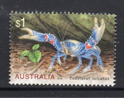 2019 AUSTRALIA Lamington Spiny Crayfish VERY FINE POSTALLY USED $1 Sheet - Oblitérés