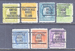 U.S. 508 +    Perf.  11   * (o)  W/ PERFINS   RHODE  ISLAND   1917 Issue - United States